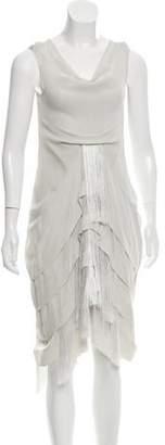Ohne Titel Fringe-Accented Sleeveless Dress