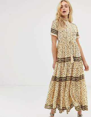 Free People rare feeling floral maxi dress