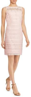 Lauren Ralph Lauren Geo Lace Dress