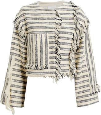 3.1 Phillip Lim Fringe Knit Jacket