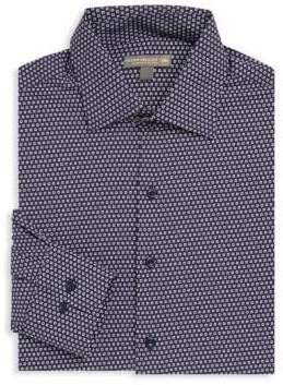 Peter Millar Chex Print Shirt