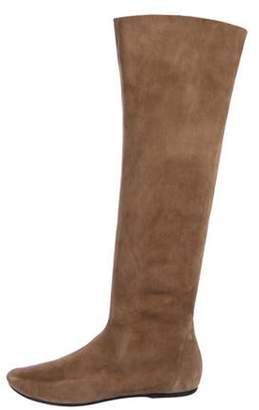 Bottega Veneta Suede Knee-High Boots brown Suede Knee-High Boots