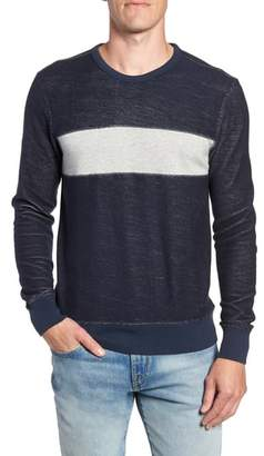Faherty Reversible Colorblock Terry Sweatshirt