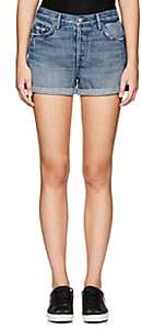 GRLFRND Women's Karlie Distressed Denim Shorts
