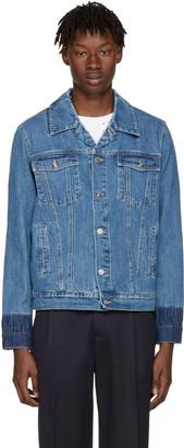 Kenzo Navy Denim Jacket $400 thestylecure.com