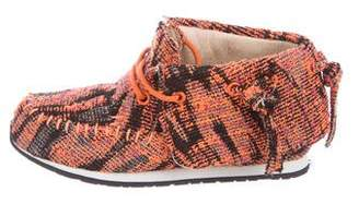 Akid Girls' Stone Knit Sneakers