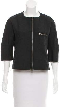 Marni Wool Zip-Up Jacket