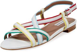 Tabitha Simmons Sarlo Strappy Ribbon Halter Sandal