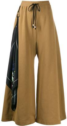 Barbara Bologna wide leg track pants
