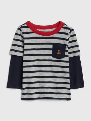 Gap 2-in-1 Stripe T-Shirt