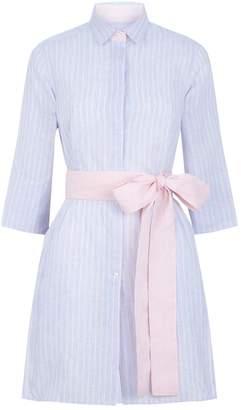 Pdn London Tunic Short Shirt Dress