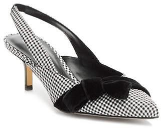 Isaac Mizrahi IMNYC Houndstooth Slingback Sandals