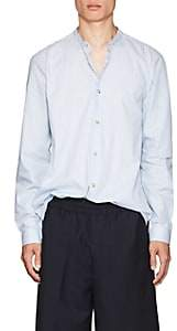 Acne Studios Men's Pine Soft Pop Striped Cotton Poplin Shirt - Blue