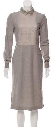 Philosophy di Alberta Ferretti Wool Midi Dress