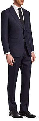 Canali Men's Wool& Silk Two Button-Front Suit