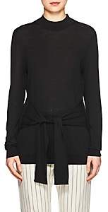 Lulu LES COYOTES DE PARIS Women's Tie-Waist Knit Sweater - Black