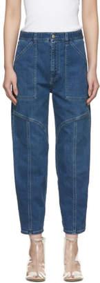 Stella McCartney Blue Wide Leg Jeans
