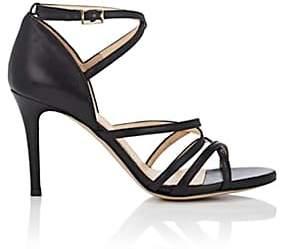 Barneys New York Women's Leather Multi-Strap Sandals - Black
