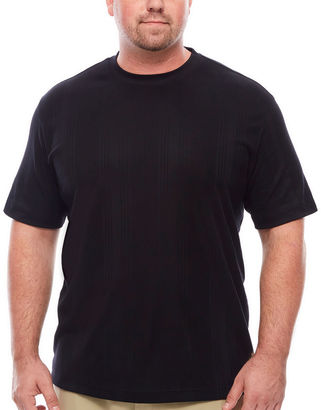 CLAIBORNE Claiborne Short Sleeve Crew Neck T-Shirt-Big and Tall $34 thestylecure.com