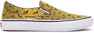 Vans Slip-On Supreme Diamond Plate Yellow