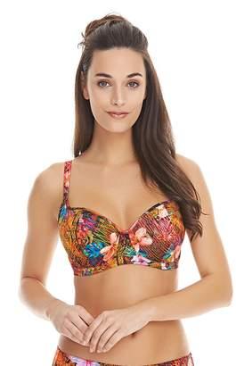 Freya Womens Safari Beach Underwire Sweetheart Padded Bikini Top