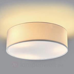Sebatin - weiße Deckenlampe aus Stoff
