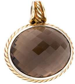 David Yurman Smoky Quartz Enhancer Pendant