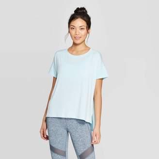 Champion Women's Short Sleeve Woven Pieced T-Shirt