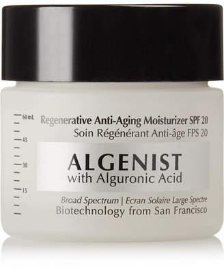 Algenist Regenerative Anti-aging Moisturizer Spf20, 57g - Colorless