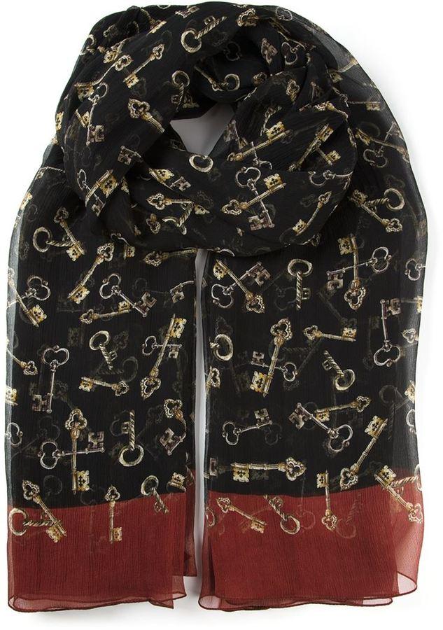 Dolce & Gabbana sheer scarf