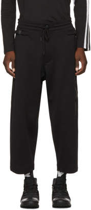 Y-3 Black Matte Track Trousers
