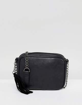 Glamorous Black Camera Cross Body Bag