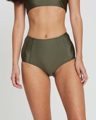 Missguided High Waist Bikini Bottoms