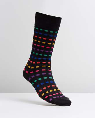 Paul Smith Multi Grid Socks