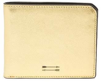 Uri Minkoff Vesper Metallic Leather Wallet