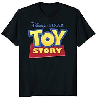 Disney Pixar Official TOY STORY Movie Logo Graphic T-Shirt