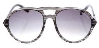 Tom Ford Jasper Aviator Sunglasses