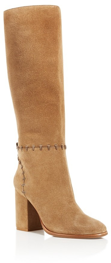 Tory BurchTory Burch Contraire Stitched Block Heel Knee Boots