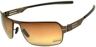 Ic! Berlin ic berlin Jesse sunglasses color teak / Polarized lenses new