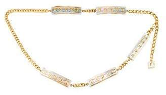 Chanel Holographic CC Chain-Link Belt
