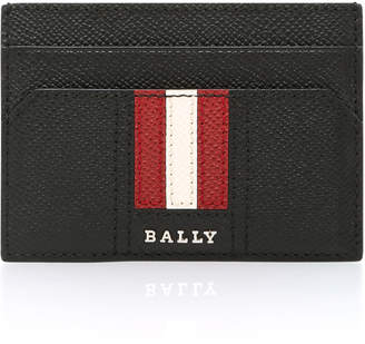 Bally Black Money Clip Card Holder