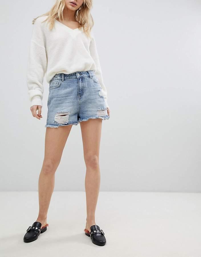 Urban Bliss – Bandana – Denim-Shorts