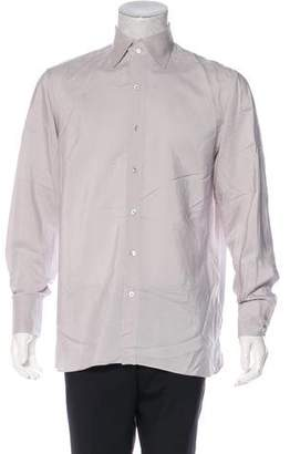 Tom Ford Silk Sheer Button-Up Shirt
