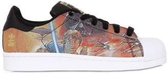 adidas Star Wars Printed Canvas Sneakers