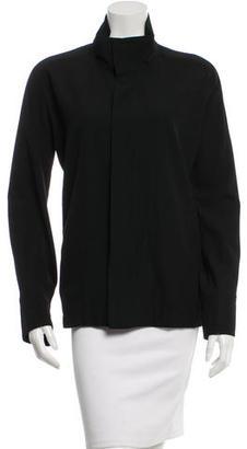 Yohji Yamamoto Lightweight Wool Jacket $115 thestylecure.com