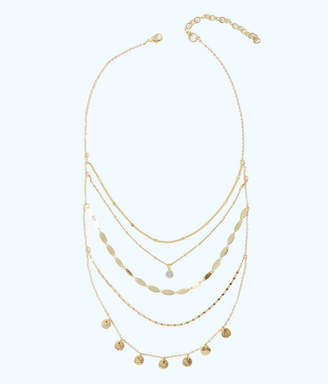 Lilly Pulitzer Sunkissed Delicate Layers Necklace