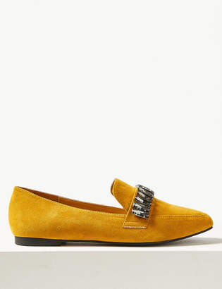 Marks and Spencer Square Toe Loafers