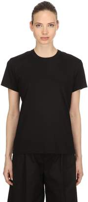 Moncler 6 Noir Jersey Technique T-Shirt