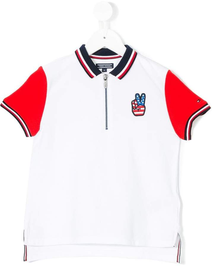 Tommy Hilfiger Junior badge polo shirt