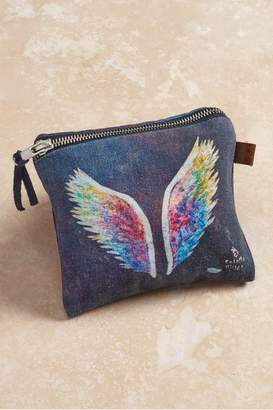 Soft Surroundings Angel Wings Project Small Pouch